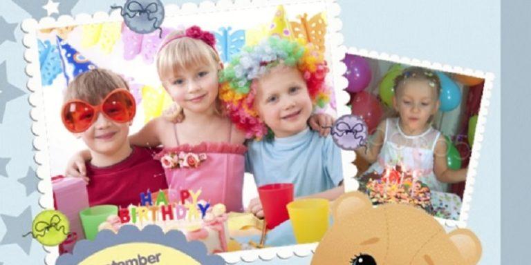 Créer un album anniversaire enfant