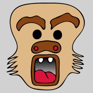 masque grande bouche