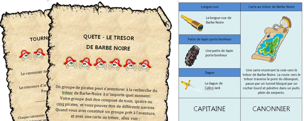 grand jeu pirates