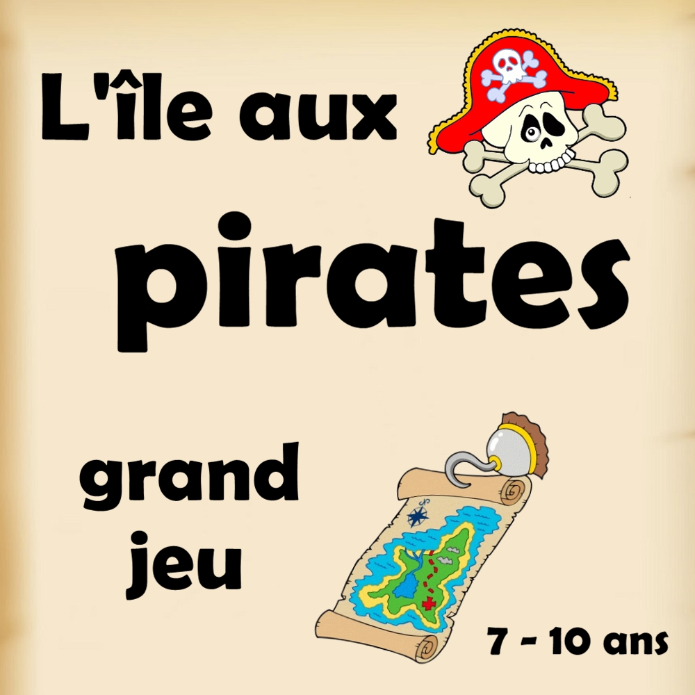 l 39 le aux pirates grand jeu pour anniversaire. Black Bedroom Furniture Sets. Home Design Ideas