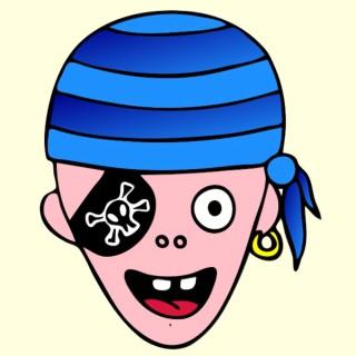 masque enfant pirate