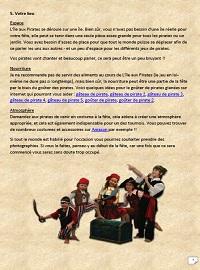jeu anniversaire pirate