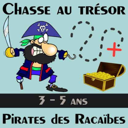 chasse pirate 3 5 ans