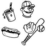 fête d'anniversaire sur le thème du baseball