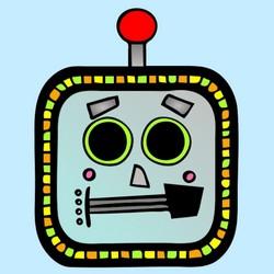 masques robot à imprimer
