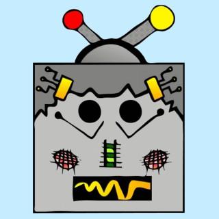 masque enfant robot
