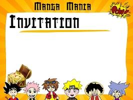 jeu manga anniversaire