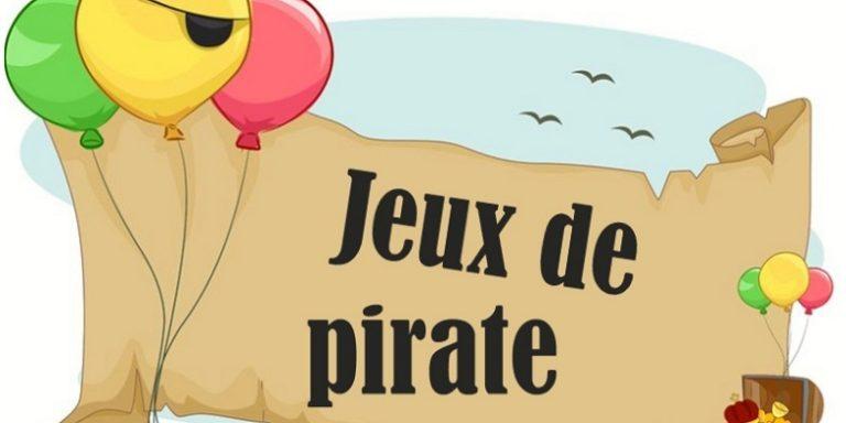 Jeux de pirate pour petits boucaniers