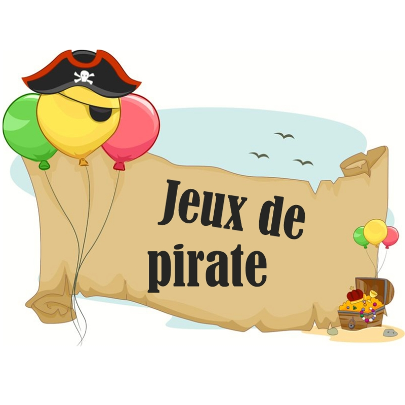 jeux de pirate pour f te d 39 enfants de pirate. Black Bedroom Furniture Sets. Home Design Ideas
