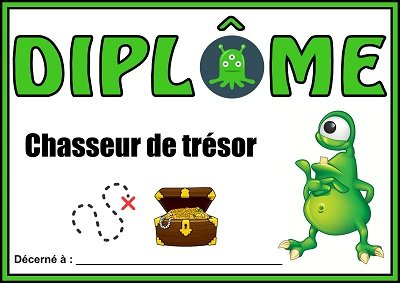 diplome chasse extraterrestre