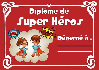 Le crapoupak jeux et cie - Carte anniversaire super heros ...