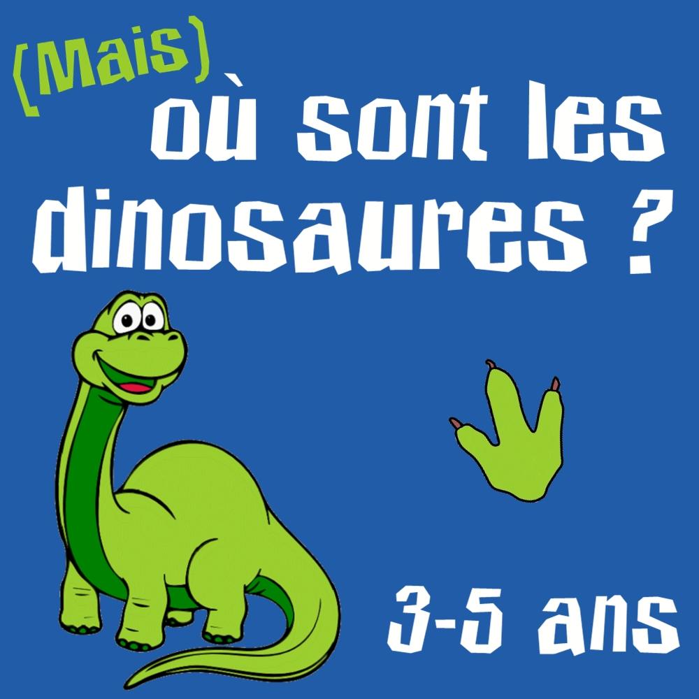 Où Sont Les Dinosaures Chasse Au Trésor