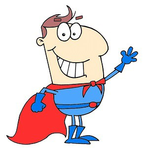 une aventure de super-héros