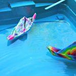 course bateau origami