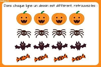 indice chasse halloween