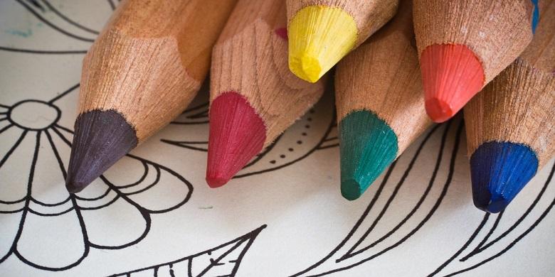crayons coloriage