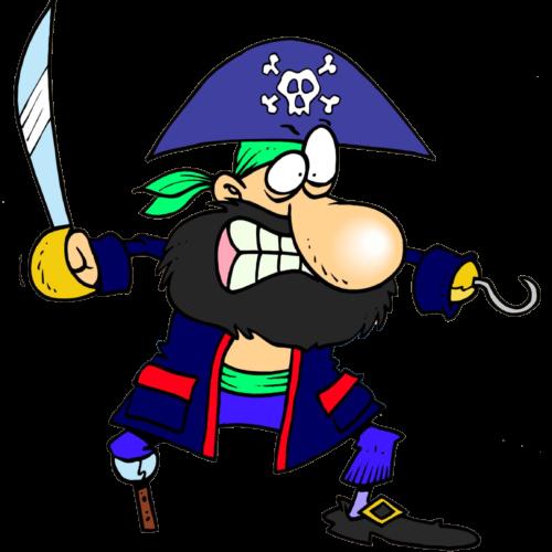 chasse au trésor de pirate