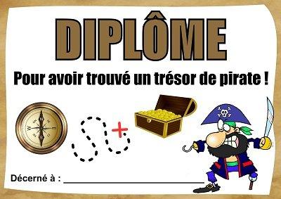 diplome pirate