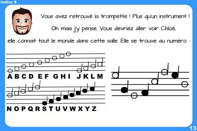 chasse au tresor musicale