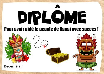 diplôme chasse tropicale