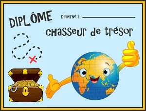 diplome chasse voyage
