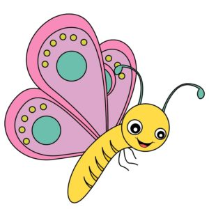 chasse au tresor papillon