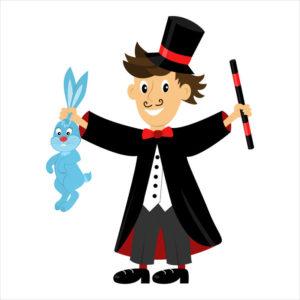 magicien de cirque