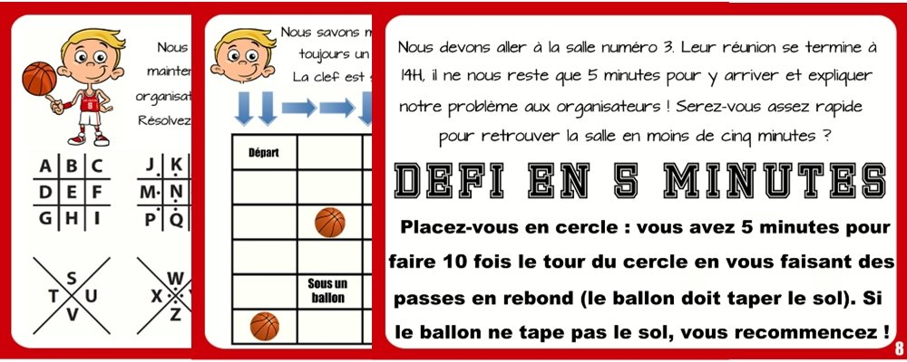 indices chasse basket