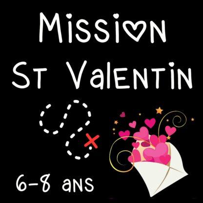chasse au tresor saint valentin 6 8 ans