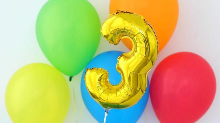 Organiser anniversaire 3 ans