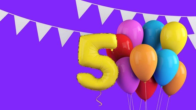 organiser fete anniversaire 5 ans
