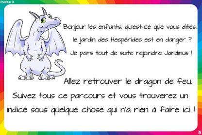 indice chasse au trésor dragon