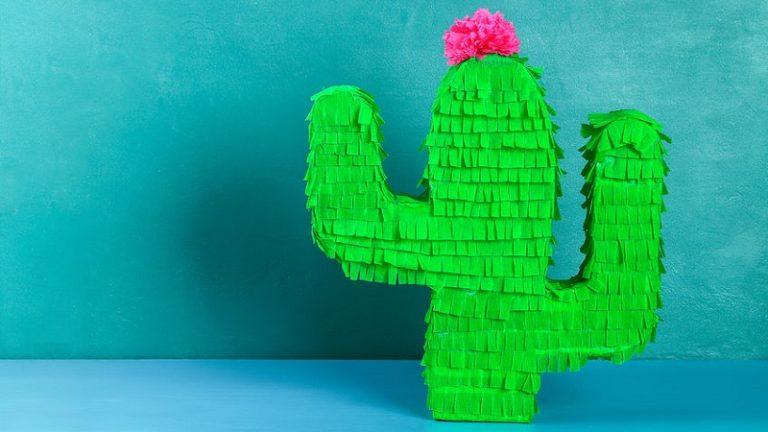 faire une pinata cactus