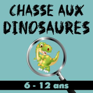 chasse aux dinosaures